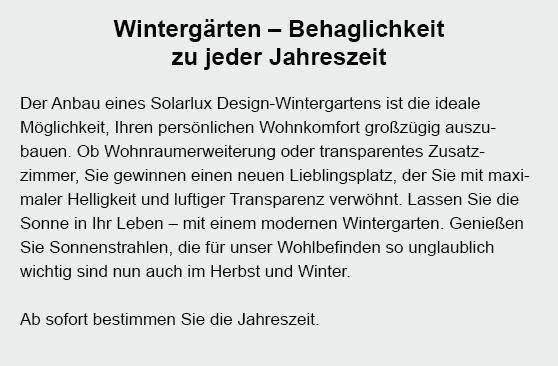 Wintergarten aus  Hartenholm