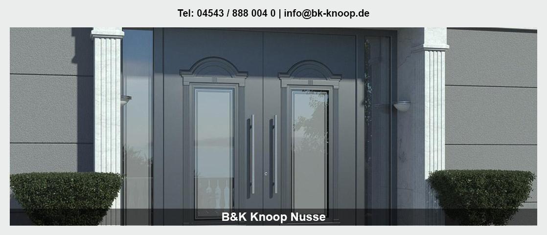 Fenster für Horst - B&K: Terrassenüberdachung, Haustüren