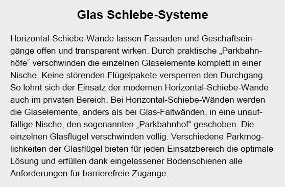 Glasfassaden in  Melsdorf