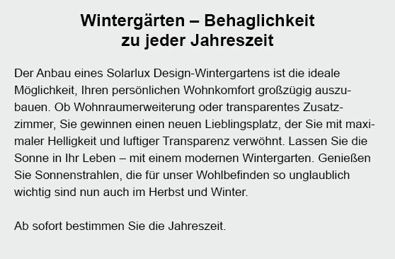 Wintergarten in 25712 Quickborn